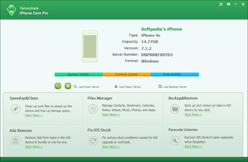 Tenorshare iCareFone Crack for patch