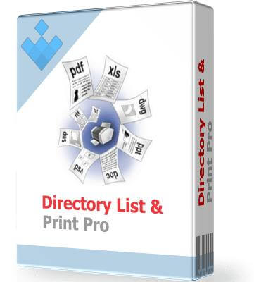 directory list & print pro free download